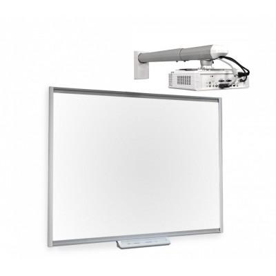 Интерактивная система Smart SBM680iv5 с ультракороткофокусным проектором Smart U100 и фирменным креплением Smart