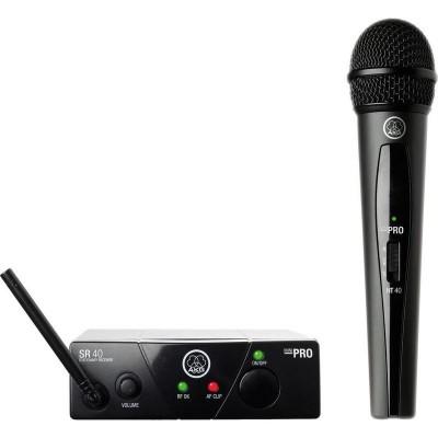 AKG WMS40 Mini Vocal Set BD US25A вокальная радиосистема с приёмником SR40 Mini и ручным передатчиком