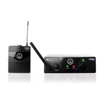 AKG WMS40 Mini Instrumental Set BD US25C инструментальная радиосистема с приёмником SR40 Mini и порт