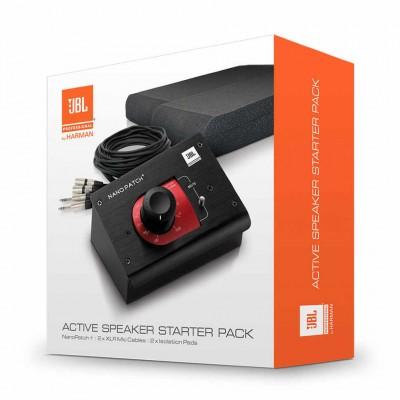 Контроллер студийных мониторов JBL ACTPACK. ACTIVE SPEAKER STARTER PACK