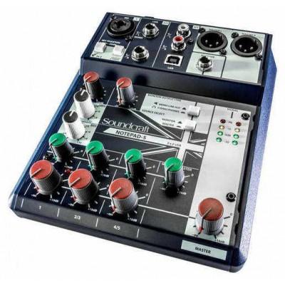 Пассивный микшерный пульт Soundcraft Notepad-5