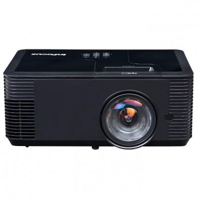 Комплект из интерактивной доски IQBoard DVT TN092, короткофокусного проектора INFOCUS IN138HDST с потолочным креплением