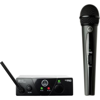 AKG WMS40 Mini Vocal Set BD US25D вокальная радиосистема с приёмником SR40 Mini и ручным передатчиком