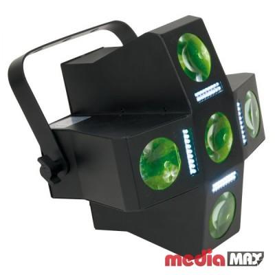American DJ Fun Factor LED - 2 устройства в одном: DMX LED Moonflower   стробоскопический эффект