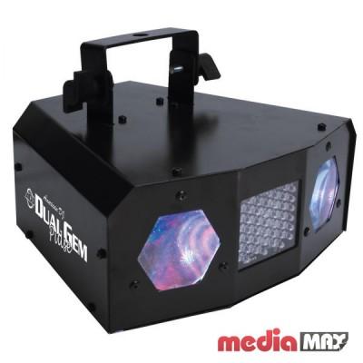American DJ Dual Gem Pulse светодиодный прибор эффект «лунного цветка» со стробо-эффектом