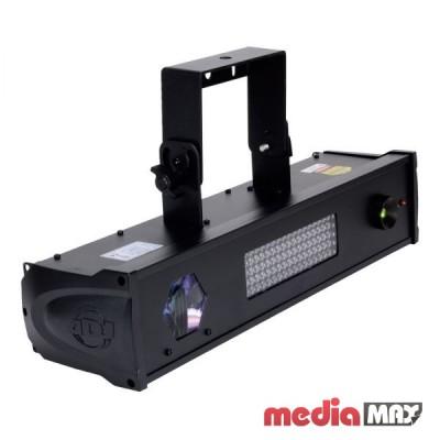American DJ Fusion FX Bar 5 прибор серии «Fusion» включает в себя: яркий белый светодиод wash/ строб эффект   TRI светодиодный Moonflower   красный и зеленый лазерный эффект