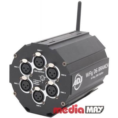 DMX-разветвитель/усилитель American DJ WiFly D6 Branch