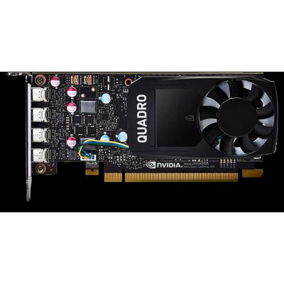 Видеокарта Dell NVIDIA Quadro P620 Half Height (4 mDP) for Precision SFF